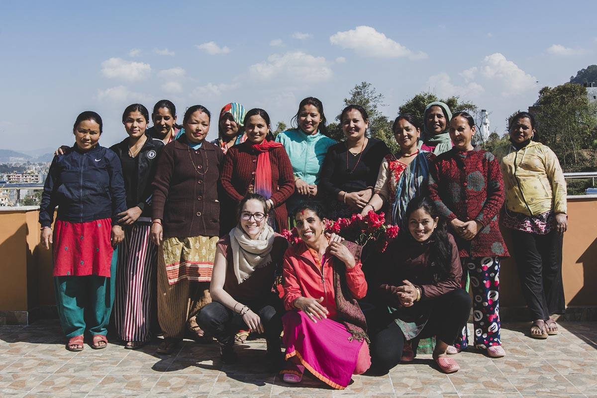 Équipe Himalayan Made au Nepal