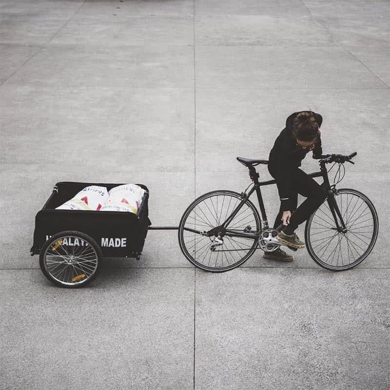 Collecte des emballages écologiques upcyclés