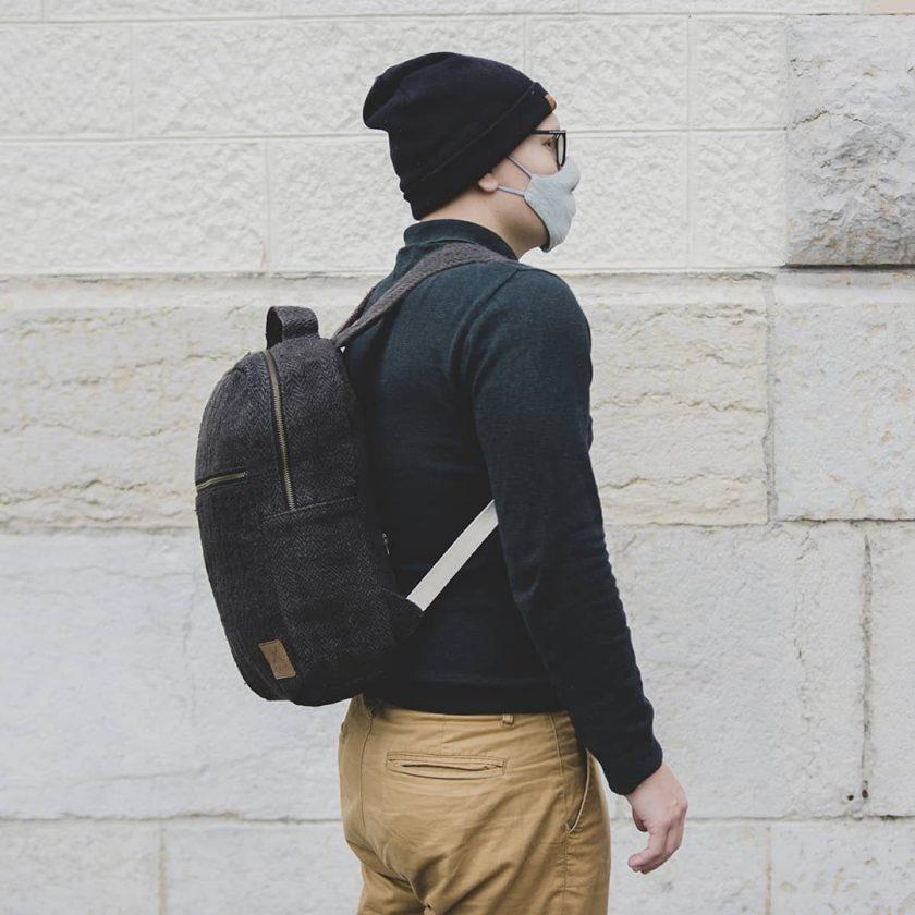 sac à dos confort noir tendance et pratique