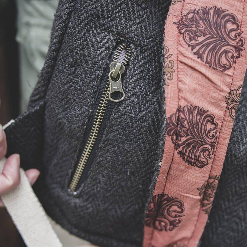 sac a dos durable avec poche pratique et poche secrete