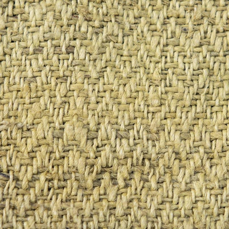 Chanvre tissu jaune