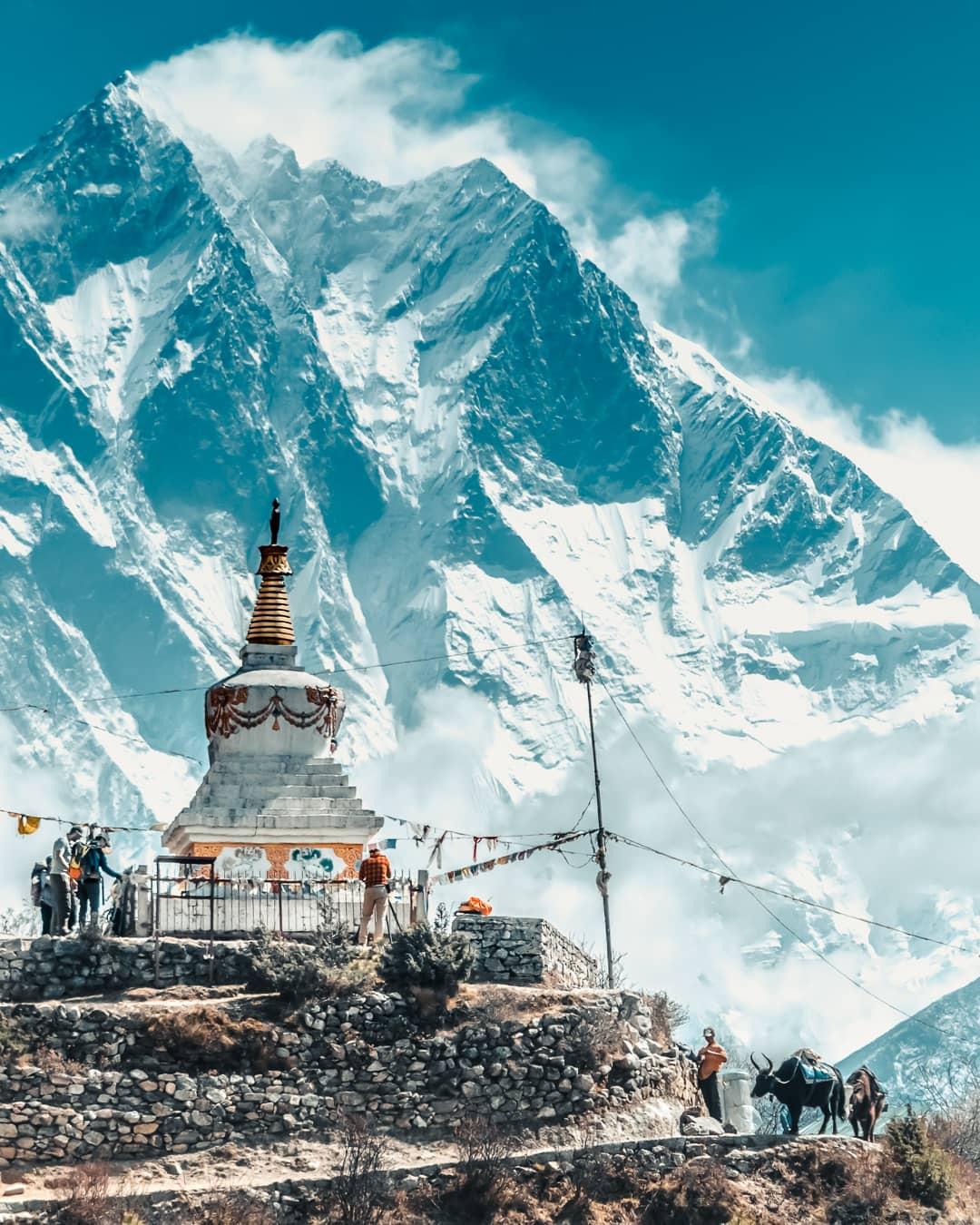 Népal Everest montagnes