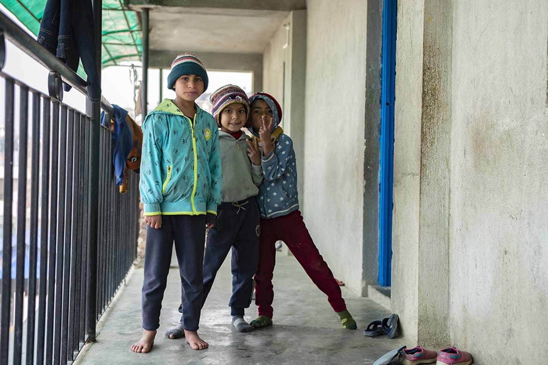 Solidarité aide à l'association Himali Népal