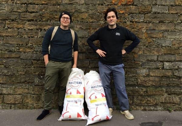 Partenaire pour la revalorisation d'emballages écologiques - Brasserie Georges