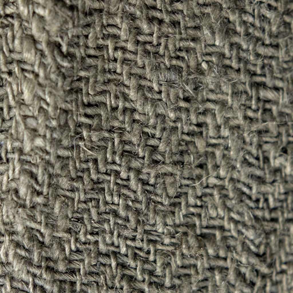 Chanvre tissu couleur anis