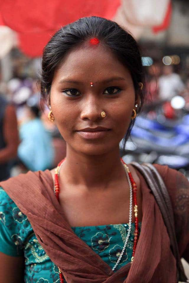 Femme népalaise festival