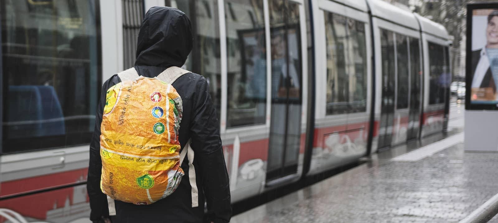 Protection pluie sac à dos