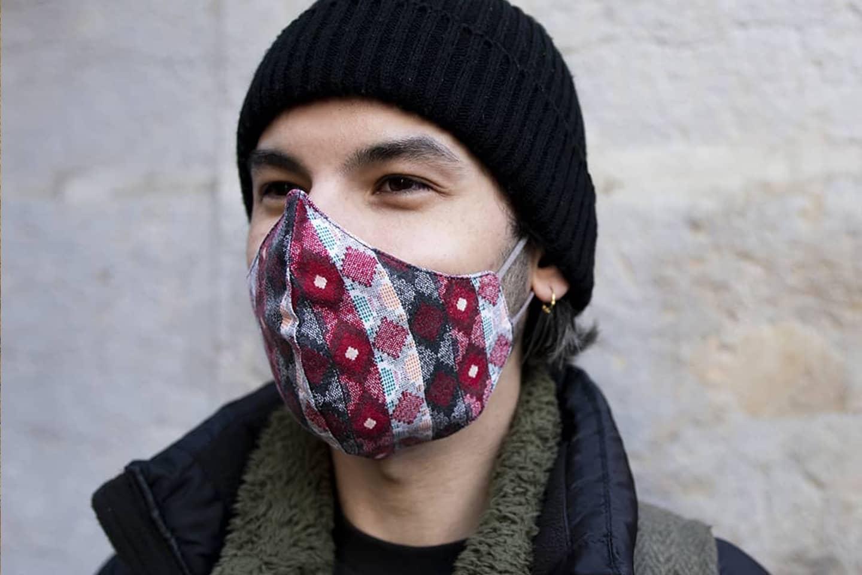 Masque tissus réutilisable covid19