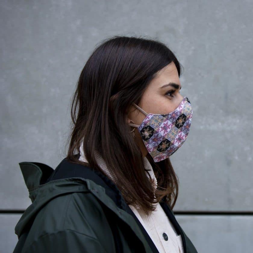 Masque coton motifs pour homme et femme