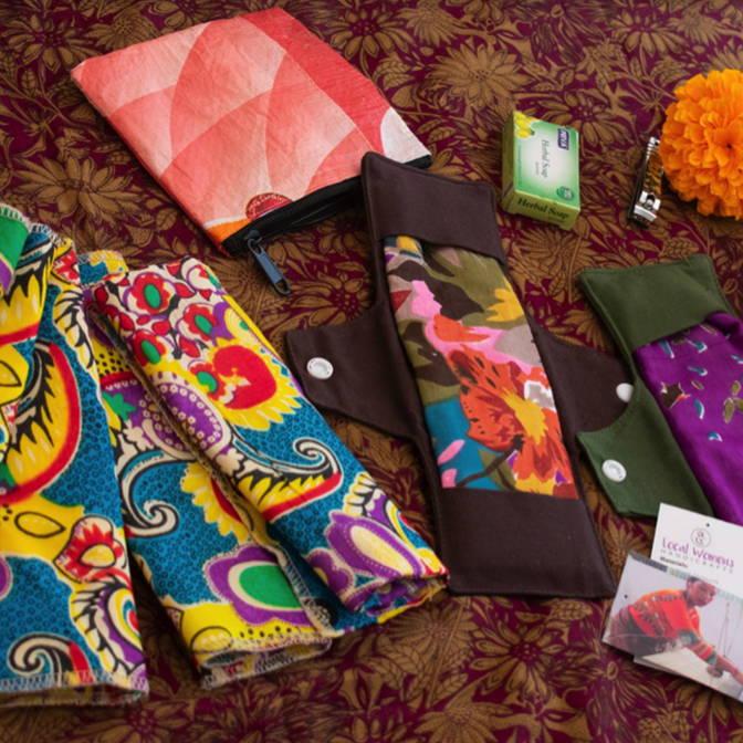 Kit de menstruation réutilisable